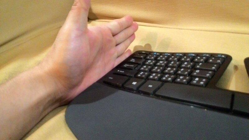 Sculpt 人體工學鍵盤高度